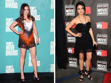 Мила Кунис (Mila Kunis) 2011 и 2010 год