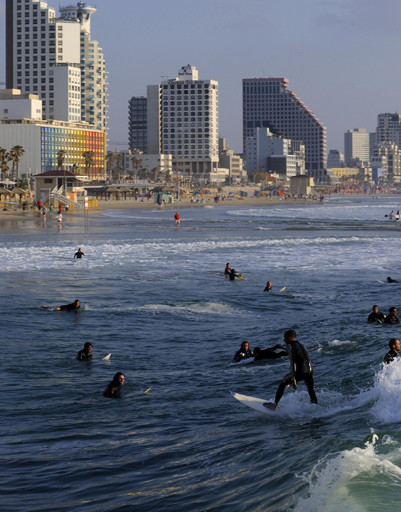 Новый год в Тель-Авиве