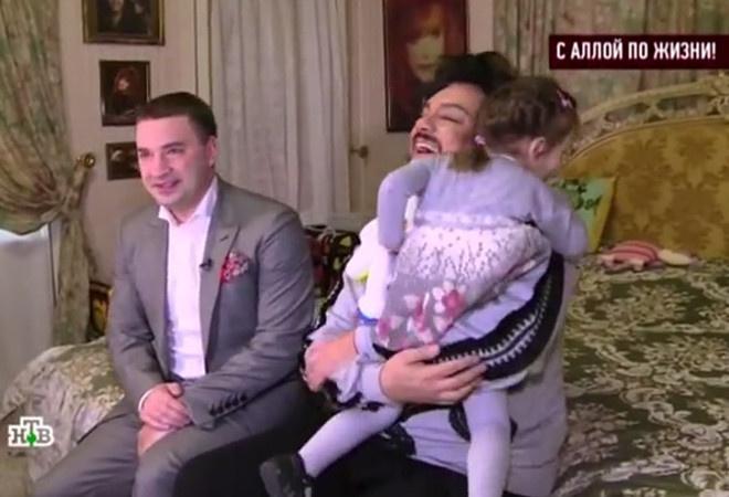 Филипп Киркоров с дочкой: фото
