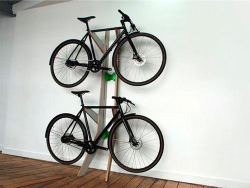 Где разместить велосипед