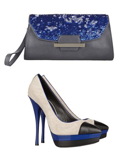 Клатч Bag Snob for DKNY, туфли Versace