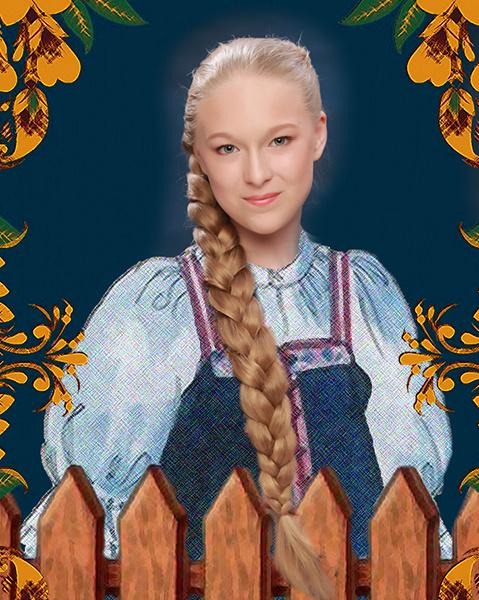 Ирина Дьячкова, «Уральская краса – русская коса», фото
