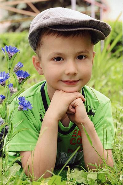 Сын Ольги Кравченко Владимир Титов