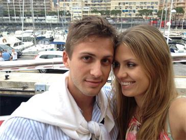 Виктория Боня и Алекс Смурфит.