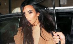 Модный конфуз: Ким Кардашьян оделась не по погоде
