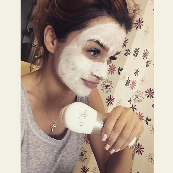 Ксения Бородина в маске фото