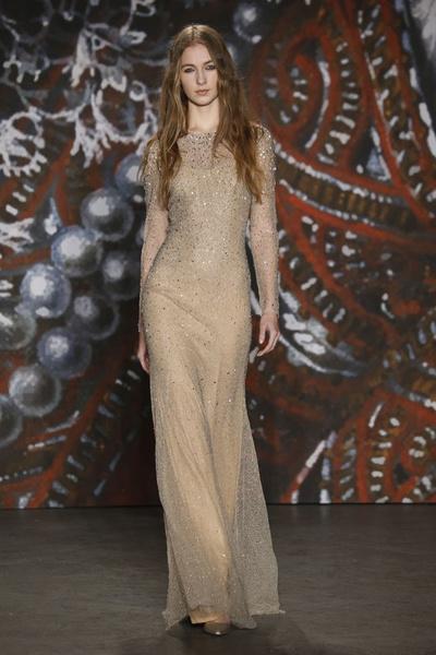 Самые роскошные вечерние платья Недели моды в Нью-Йорке | галерея [2] фото [5]