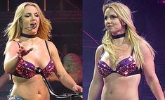 Бритни Спирс шокировала зрителей обвисшим животом