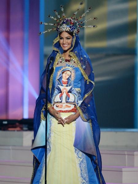 Мисс Вселенная 2014: участница из Доминиканской республики, фото