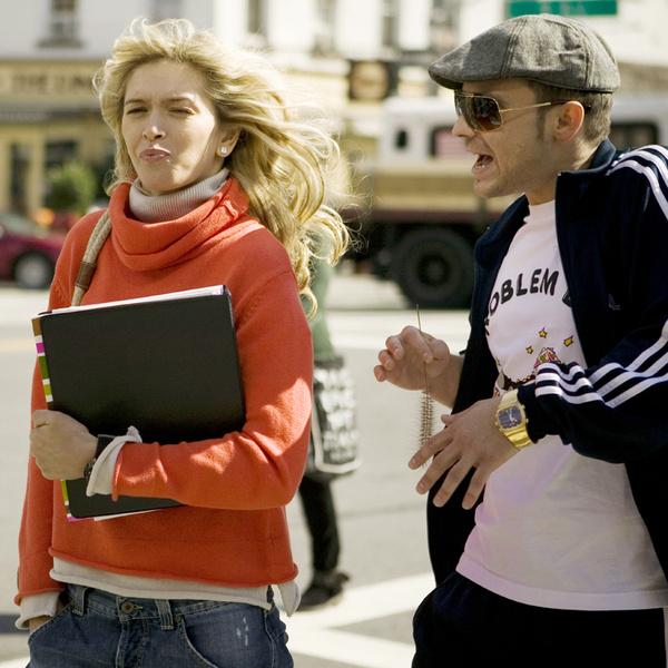 В фильме «Любовь в большом городе» с Алексеем Чадовым.