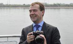 Дмитрий Медведев станцевал на Селигере