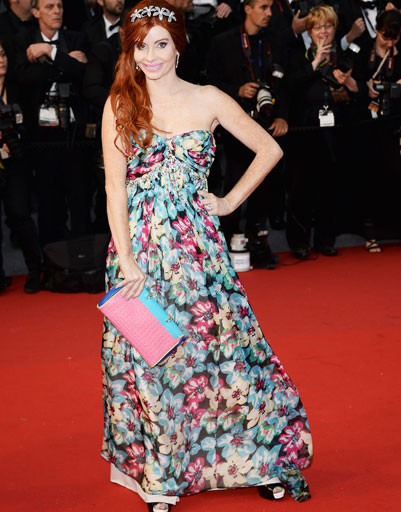 Фиби Прайс (Phoebe Price) на 66-ом Каннском кинофестивале