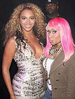 Ники Минаж (Nicki Minaj) и Бейонсе (Beyonce)