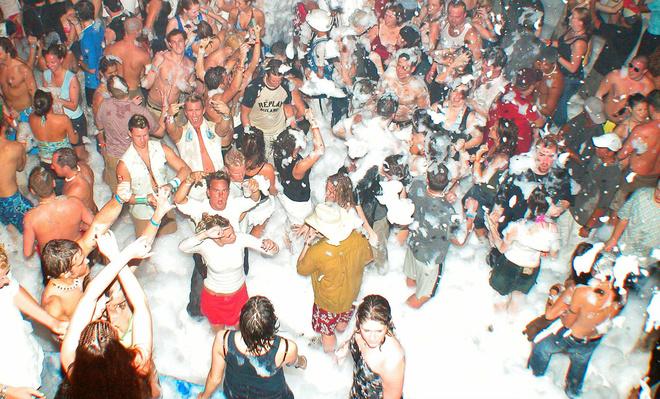 Уфа, афиша, танцы, пенная вечеринка