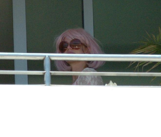 Бритни Спирс в парике