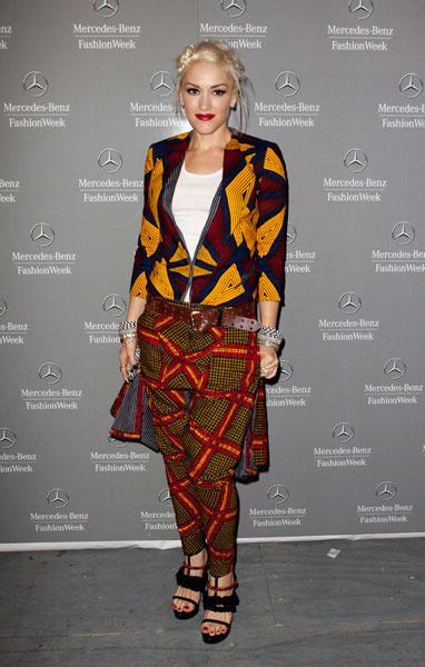 Одежда в стиле swag: Гвен Стефани
