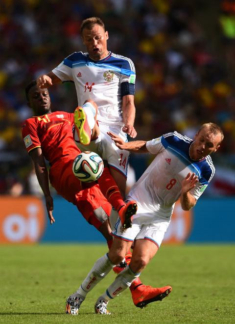 Сборная России проиграла Сборной Бельгии со счетом 0:1