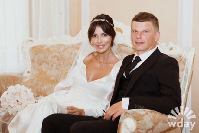 Андрей Аршавин и Алиса и Казьмина