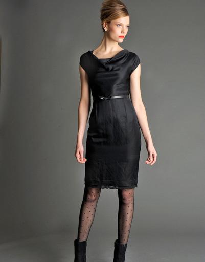 Маленькое черное платье - наряд вне времени