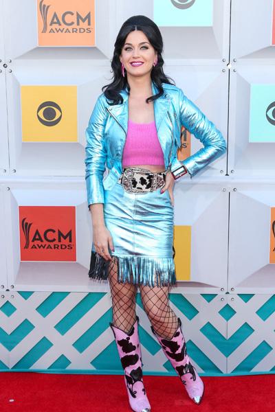 Кэти Перри на премии Academy Of Country Music Awards