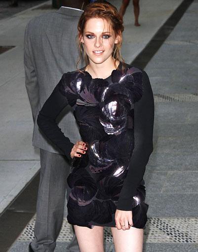 """Кристен Стюарт (Kristen Stewart) на специальном показе """"Сумерки. Сага. Затмение"""", 2010 год"""