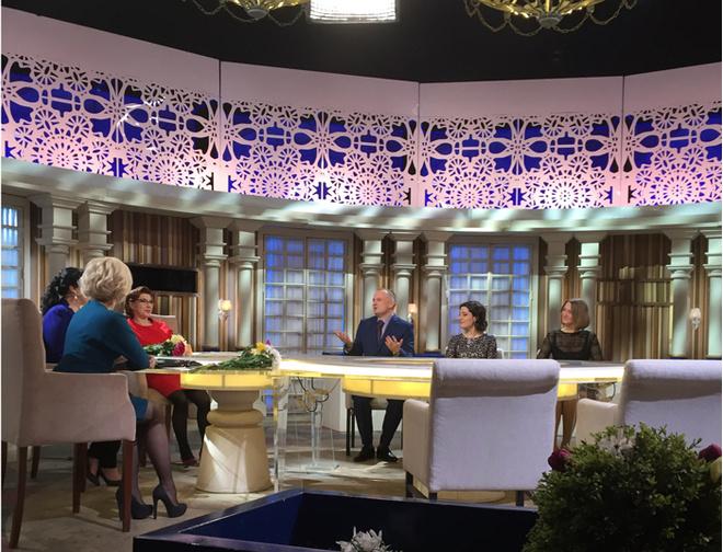 Волгоград, ток-шоу «Давай поженимся» на «Первом канале», Лариса Гузеева
