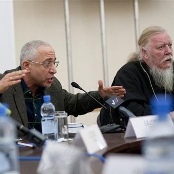 Протоиерей Дмитрий Смирнов и Николай Сванидзе