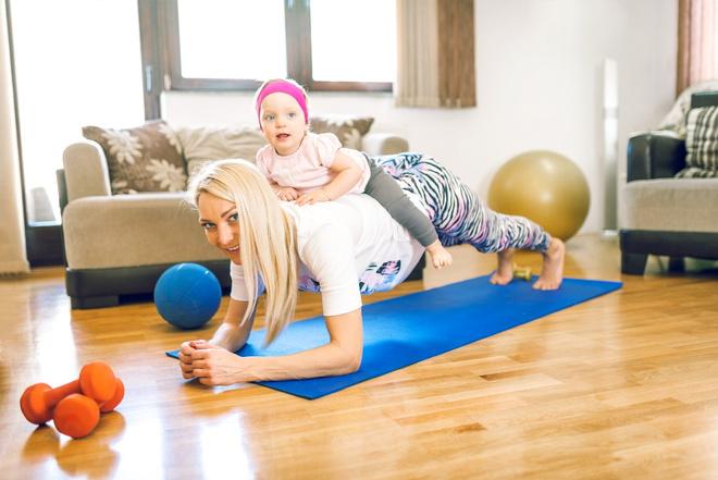 Йога для кормящим мам