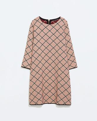 Платье из микрожаккарда