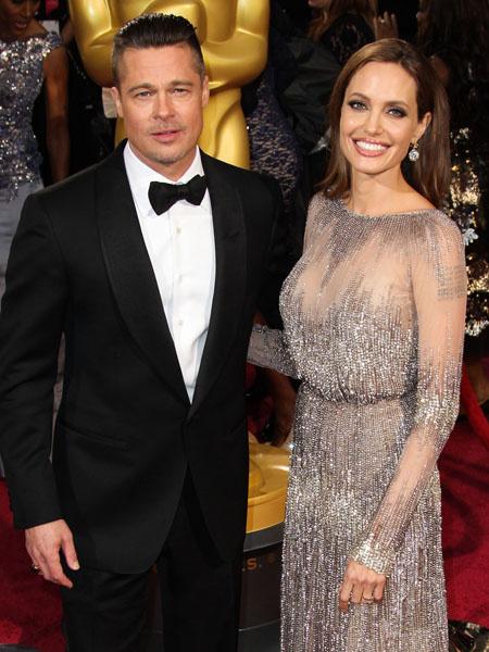 Брэд Питт и Анджелина Джоли, фото