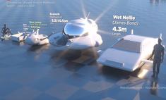 От Библии до Minecraft: сравнение размеров фантастических и настоящих кораблей, подлодок и иных плавсредств (видео)