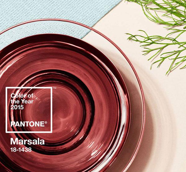 Главный цвет 2015 года - Марсала