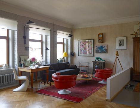 Лучшие интерьеры квартир 2014: вспомнить всё! | галерея [1] фото [10]