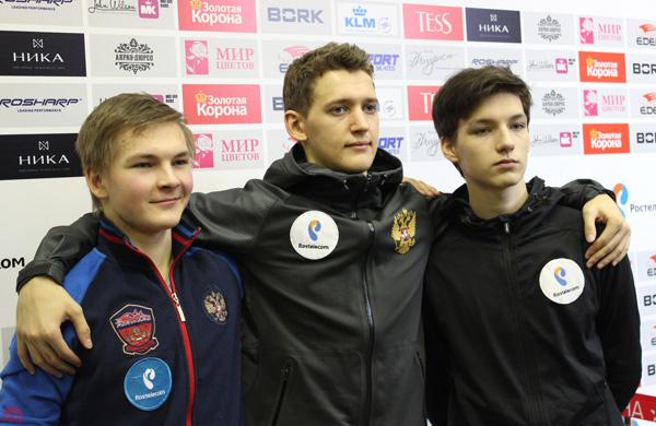Максим Ковтун, Чемпионат России по фигурному катанию - 2015, фото