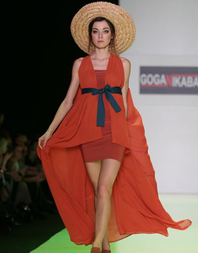 Mercedes-Benz Fashion Week Russia: GOGA NIKABADZE весна-лето 2014