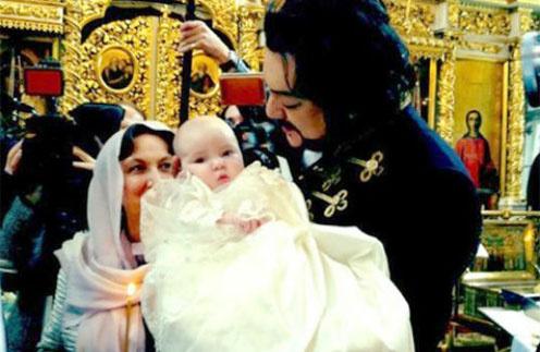 Филипп Киркоров с дочкой