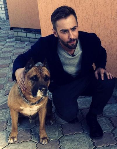 Дмитрий Шепелев любит собак