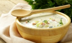 Окрошка на кефире: готовим самый летний суп