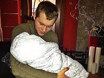 Сергей Бондарчук еще во время беременности жены привыкал к роли будущего папы