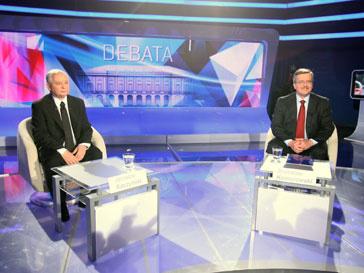Ярослав Качиньский и Бронислав Коморовский: один из них скоро станет президентом Польши