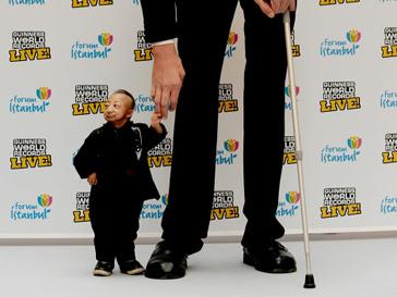 Самый маленький человек на земле Хэ Пинпин