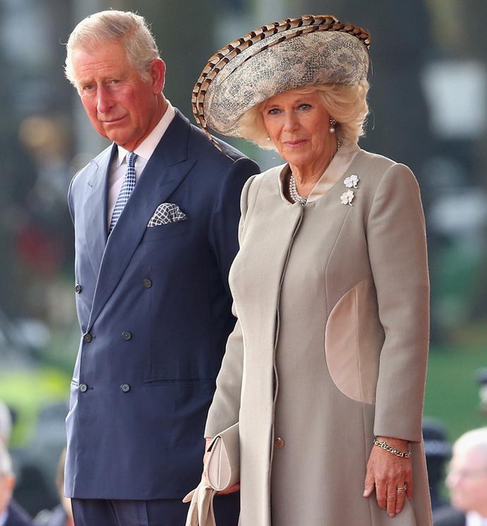 Принц Чарльз и Камилла Боулз