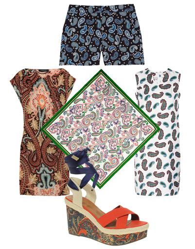 Платье Thakoon, шорты Stella McCartney, платье J.W.Anderson, сандалии Asos, платок Jil Sander