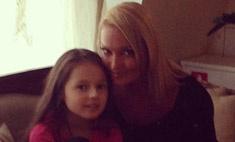 Анастасия Волочкова приучает дочь к spa-салонам