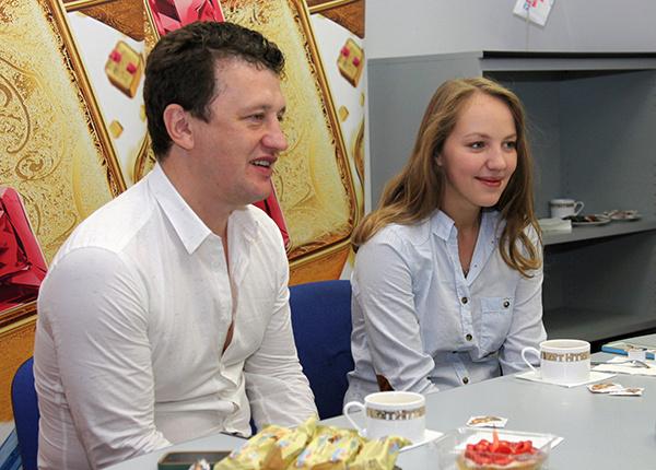 Галина Боб и Сергей Корягин