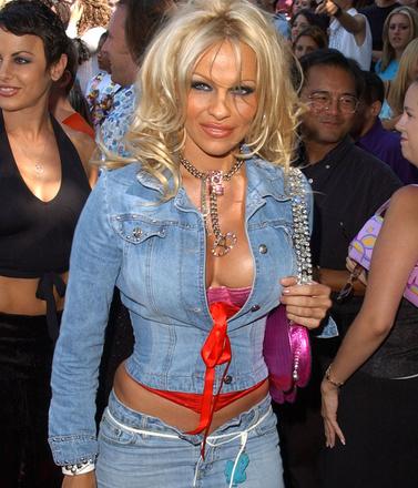 Памела Андерсон, 2001 год