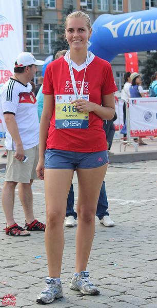 "Марина Мацепа, волейболистка, марафон ""Европа-Азия 2016"", фото"