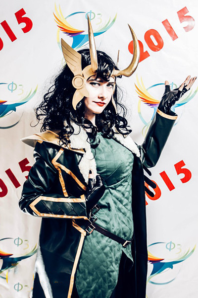 Локи из комикса «Локи: Агент Асгарда», фестиваль фэнтези и фантастики