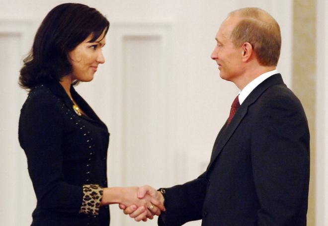 С президентом Анна встречалась в Кремле