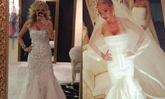 Маша Малиновская выбирает идеальное свадебное платье